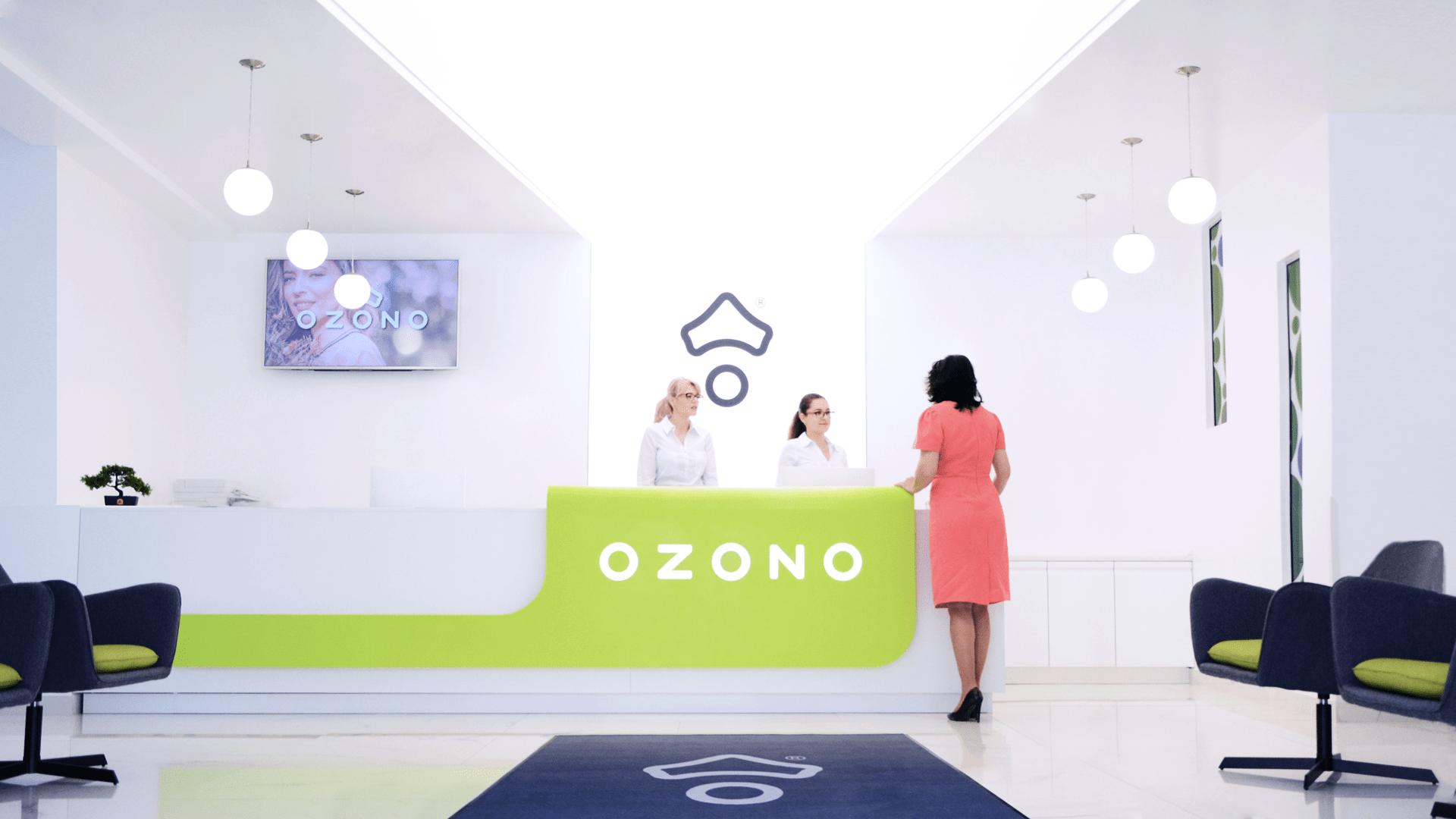 receptie OZONO
