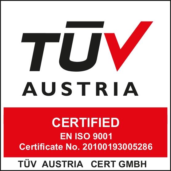certificare TUV Austria Ozono