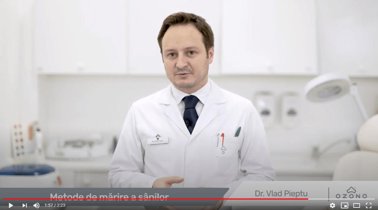 doctor Vlad Pieptu despre marirea sanilor
